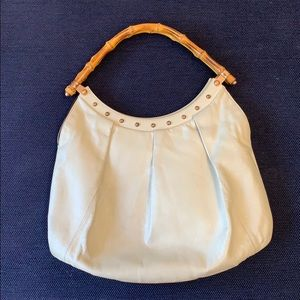Vintage Gucci bag with bamboo handles